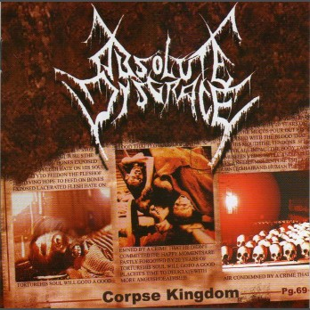 Absolute Disgrace - Corpse Kingdom - CD
