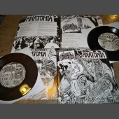 "Anatomia/Burial Invocation - Decomposing Serenades 7"" EP (Black)"