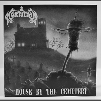 "MORTICIAN - House By The Cemetery (12"" Gatefold LP w/ Poster)"