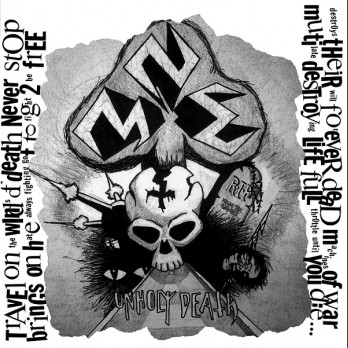 NME - Unholy Death/Machine of War demo 2CD