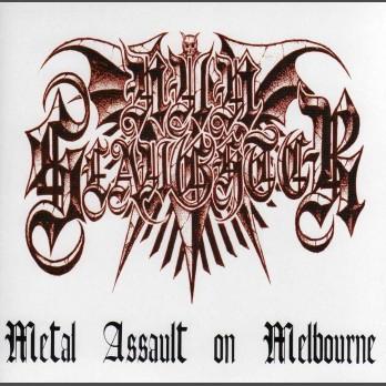 """Nunslaughter - Metal Assault on Melbourne and Brisbane (3x 7""""EPs)"""