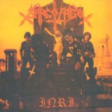 Sarcofago INRI - 12-inch - Gatefold vinyl - Orange Jacket